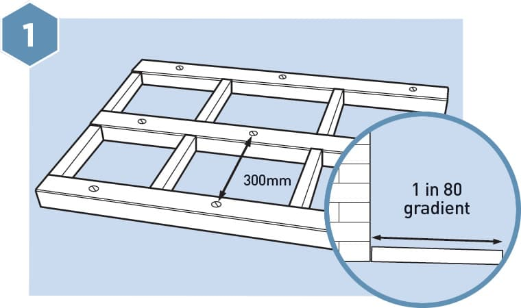 HD Composite Decking Fitting Guide - Step 1