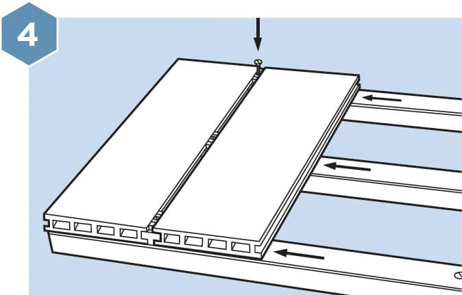 HD Composite Decking Fitting Guide - Step 4