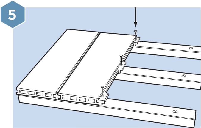 HD Composite Decking Fitting Guide - Step 5