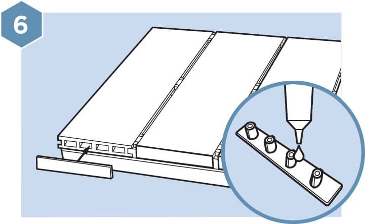 HD Composite Decking Fitting Guide - Step 6