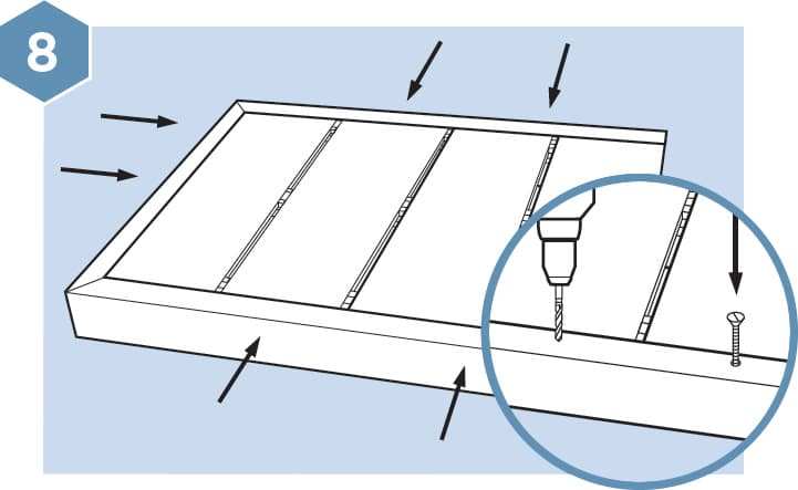 HD Composite Decking Fitting Guide - Step 8